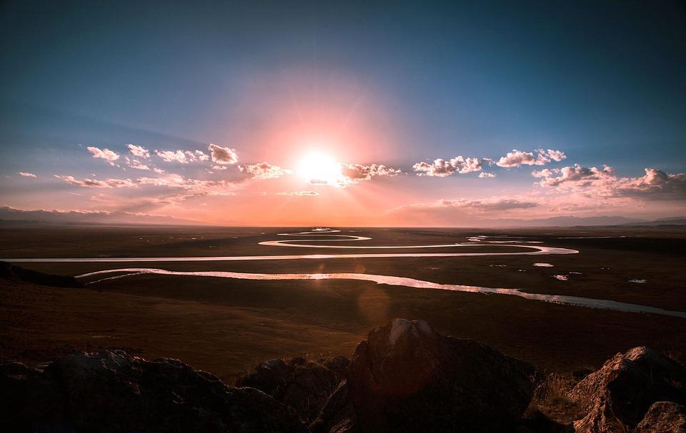 日の出 風景